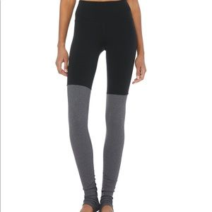 ALO Yoga Pants - Alo yoga goddess leggings XXS black/ gray